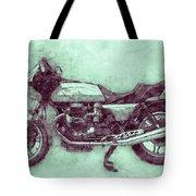 Moto Guzzi Le Mans 3 - Sports Bike - 1976 - Motorcycle Poster - Automotive Art Tote Bag