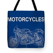 Moto Quotes Tote Bag