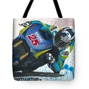 Motogp - Maverick Full Gas  Tote Bag