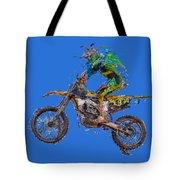 Motorbiker Tote Bag