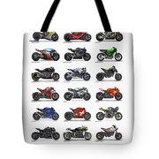 Motorcycle Concepts 2017-2018 Tote Bag