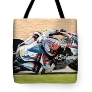 Motorcycle Racing Tote Bag