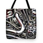 Motorcycle Reds Tote Bag