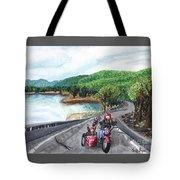 Motorcycle Ride Tote Bag