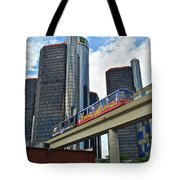 Motoring In The Motor City Tote Bag