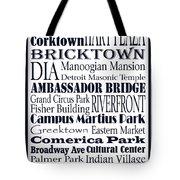 Motown Tote Bag