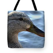 Mottled Duck Big Spring Park Crop Tote Bag
