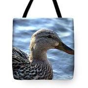 Mottled Duck Big Spring Park Tote Bag