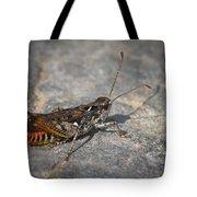 Mottled Grasshopper Tote Bag