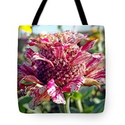 Mottled Pink Cone Flower Tote Bag