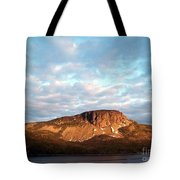 Mottled Sky Of Late Spring Tote Bag