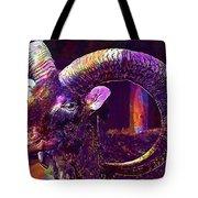 Mouflon European European Mouflon  Tote Bag