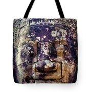 Mould Damage At Angkor Thom Tote Bag