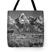 Moulton Cabin - Grand Tetons II Tote Bag