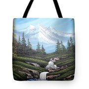 Mounatain Hide-away Tote Bag