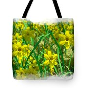 Mound Of Flowers... Tote Bag