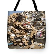 Mound Of Recyclables Tote Bag