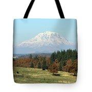Mount Adams Pasture Land Tote Bag