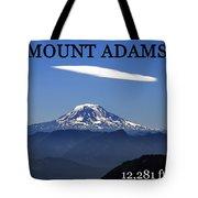 Mount Adams Poster  Tote Bag