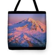 Mount Baker At Sunset Tote Bag