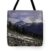 Mount Baker From The Lake Ann Trail 2 Tote Bag