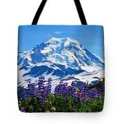 Mount Baker Wildflowers Tote Bag