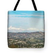 Mount Baldy And Mountain High Tote Bag