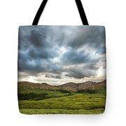 Mount Bierstadt Cloudy Evening 2x1 Tote Bag