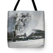 Mount Carmel Eruption Tote Bag