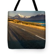 Mount Cook Road Tote Bag