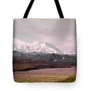 Mount Denali Tote Bag