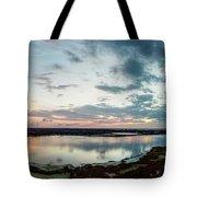 Mount Dora Fl Sunset Tote Bag