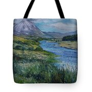 Mount Errigal Co. Donegal Ireland. 2016 Tote Bag