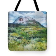 Mount Errigal County Donegal Ireland 2016 Tote Bag