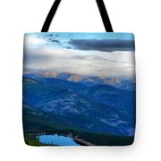 Mount Evans Painterly 2  Tote Bag