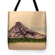 Mount Fuji And Power Of Mystery Tote Bag
