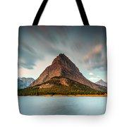 Mount Grinnell In Glacier Np Tote Bag