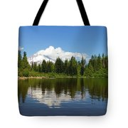 Mount Hood By Mirror Lake Tote Bag