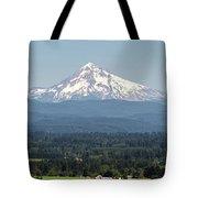 Mount Hood In The Summer Tote Bag