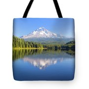 Mount Hood On A Sunny Day Tote Bag