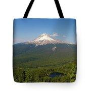 Mount Hood Over Mirror Lake Tote Bag