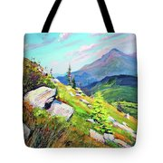 Mount Hoverla Tote Bag