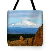 Mount Jefferson Tote Bag