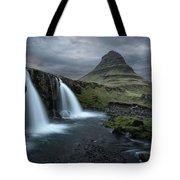 Mount Kirkjufell Iceland Tote Bag