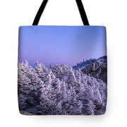 Mount Liberty Blue Hour Panorama Tote Bag