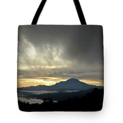 Mount Of Borneo Malaysia Tote Bag