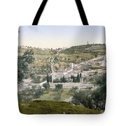 Mount Of Olives, C1900 Tote Bag