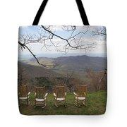 Mount Pisgah View Tote Bag