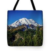 Mount Rainier - Eastside Tote Bag