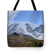 Mount Rainier 3 Tote Bag